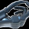 Free STL file 3D PRINTER PROTOTYPE OF ORTHOPEDIC HAND 2018, Gusmar_91
