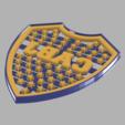 Download 3D model Cookie Cutter - Cookie Cutter // Boca Juniors, Urielzx