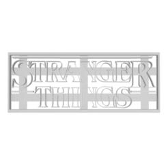 Descargar diseños 3D Cookie Cutter - Cortador de Galletas // Stranger Things, Urielzx