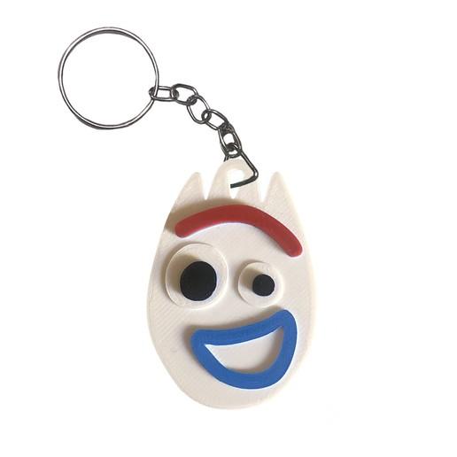 Télécharger fichier STL Porte-clés Forky Toy Story 4 // Porte-clés Forky Toy Story 4, Urielzx