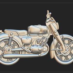 moto.PNG Download OBJ file motorbike • 3D printing template, DamNgocHiep