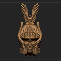 Imprimir en 3D cabeza de combatiente, DamNgocHiep