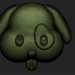 Free 3D print files dog file obj icon, DamNgocHiep