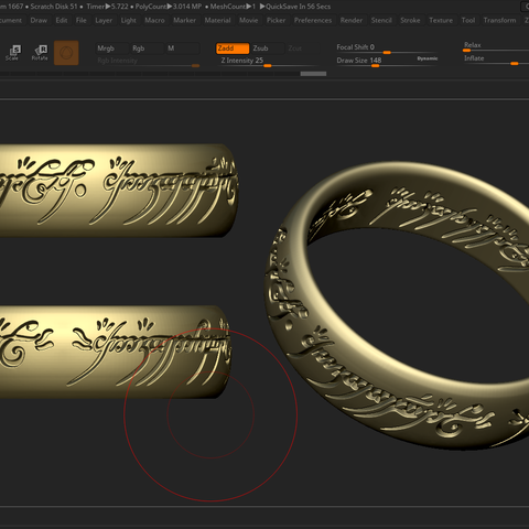 Download STL files the lord of the rings, DamNgocHiep