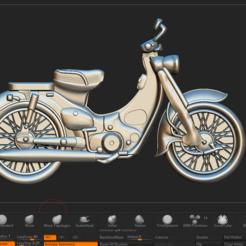 Download 3D printing templates motorbike honda cup, DamNgocHiep