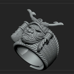 Download 3D print files samurai サムライ, DamNgocHiep