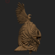 3D printing model combatant  head, DamNgocHiep