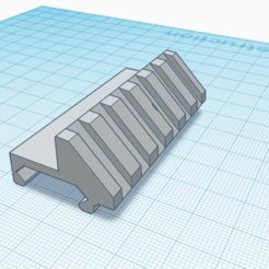 Sans titre.png Download STL file Rail Picattiny 45 degree • 3D printing model, Matix