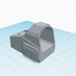 red.png Download STL file Holographic Mini Viewfinder • 3D print model, Matix