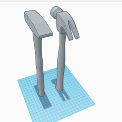 mar.png Télécharger fichier STL Marteau • Objet à imprimer en 3D, Matix