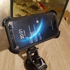 Télécharger STL Support Samsung S8 , Matix