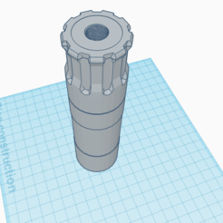 sil.png Download STL file Silencer 14mm • 3D printing template, Matix