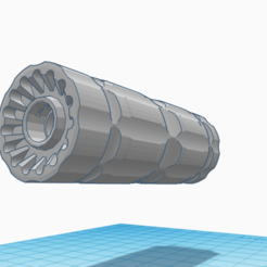 Download 3D printing models Silencieux System , Matix
