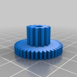 Download free STL My Customized Parametric Concentric Gear (), ericperrier