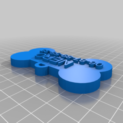Download free 3D printing files My Customized Customized dogtag, ericperrier