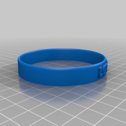 Download free 3D printer designs My Customized Bracelet Maker, ericperrier