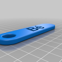 Download free 3D printer model My Customized Personalized Key Chain - Double rounded, ericperrier