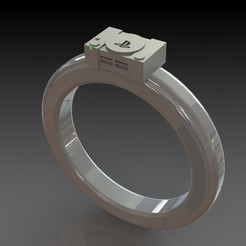Download 3D printer model PlayStation one Ring , minimeka