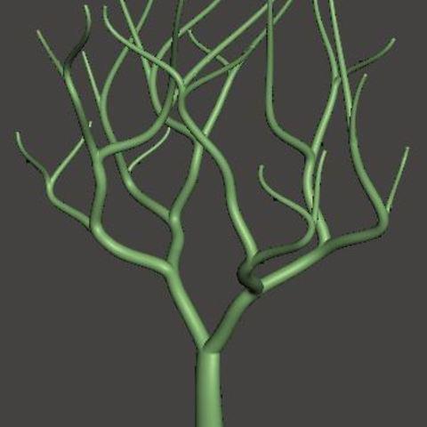 Imprimir en 3D gratis Tree-Coral, omni-moulage