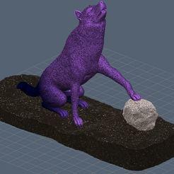 Descargar modelos 3D para imprimir Lobo, omni-moulage