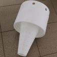 Download free 3D printer designs Hornet trap (bottle adapter), omni-moulage