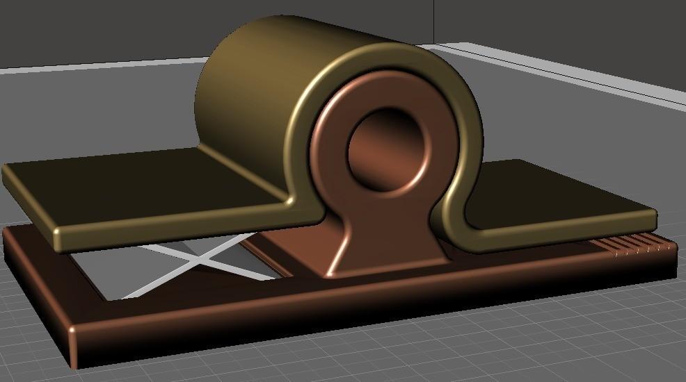 d96c6792d32445cde66fec8281673754_display_large.jpg Download free STL file Wall Pin • 3D printing design, omni-moulage