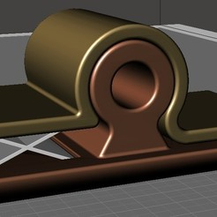 Download free 3D printing designs Wall Pin, omni-moulage