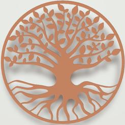 arbre a vie.png Download 3MF file Tree of Life • 3D printer model, omni-moulage