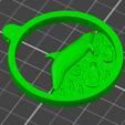 Télécharger plan imprimante 3D gatuit dolphin swimming on plastic ocean, omni-moulage