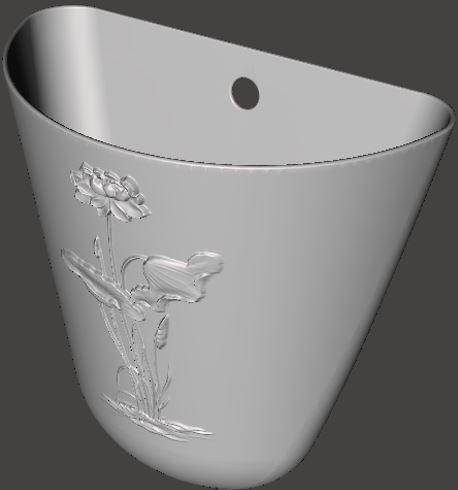 56c3f923ab6a824166493ffb14eac73a_display_large.JPG Download free STL file Decorative flower pot • 3D printable design, omni-moulage