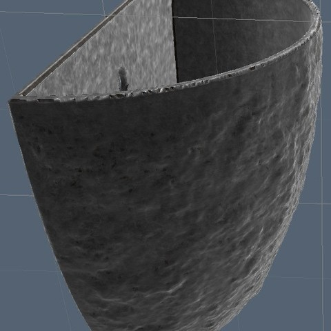 Download free 3D printing templates Flower Pot, omni-moulage