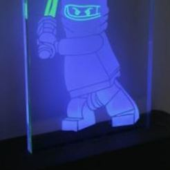Download free STL file Illuminated NinjaGo • Template to 3D print, omni-moulage