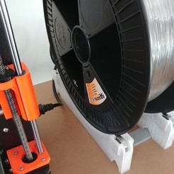 support bobine 300mm.jpg Download free STL file 300mm reel holder • 3D printer template, omni-moulage