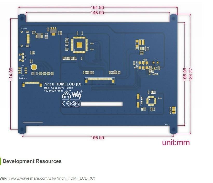 5db386045212dcca79e04dd7d32ff19a_display_large.jpg Télécharger fichier STL gratuit Prise en charge de l'écran Rasperry Clone • Design pour imprimante 3D, omni-moulage