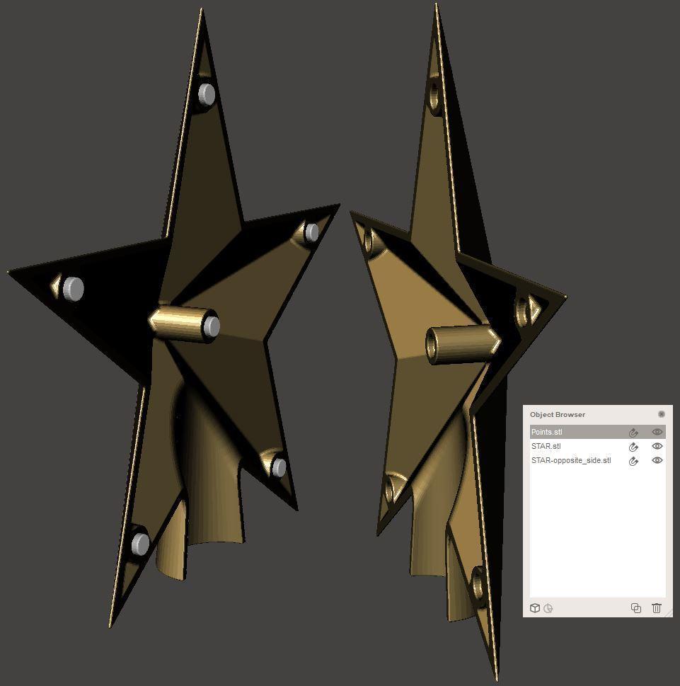 8ad10be9fb9cdb2d936fa110e2d213f5_display_large.JPG Download free STL file Stars • 3D print design, omni-moulage