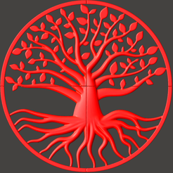 RedCandy.png Download GCODE file Great tree of life • 3D printer object, omni-moulage