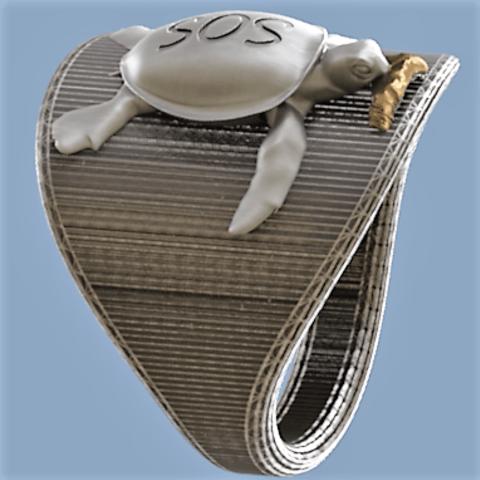 SOS.png Download STL file plastic SOS • Design to 3D print, omni-moulage