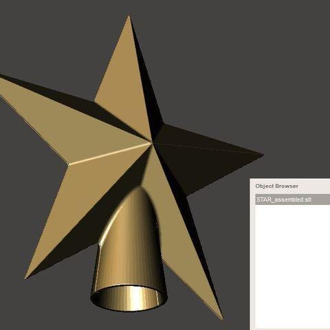 Download free 3D printer designs Stars, omni-moulage