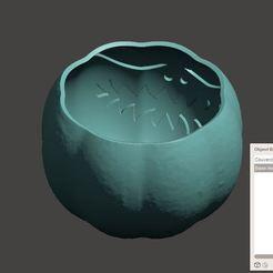 Citrouille lithophane.JPG Download 3MF file Lithophane pumpkin with lid • 3D printer model, omni-moulage