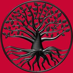 6 morceaux.png Download OBJ file Large tree of life (in 6 parts) • 3D printable design, omni-moulage