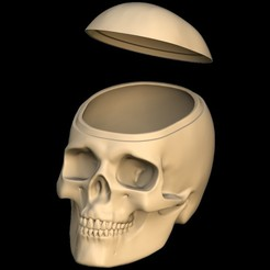 Open.jpg Télécharger fichier STL Boite à bonbons Halloween • Design imprimable en 3D, omni-moulage