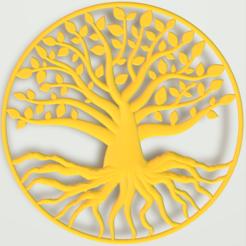 arbre de vie.PNG Download 3MF file Tree of Life • 3D printer model, omni-moulage
