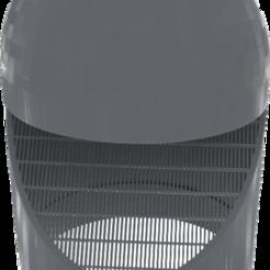 PVC-100mm.png Download STL file PVC aerator 100mm • 3D print template, omni-moulage