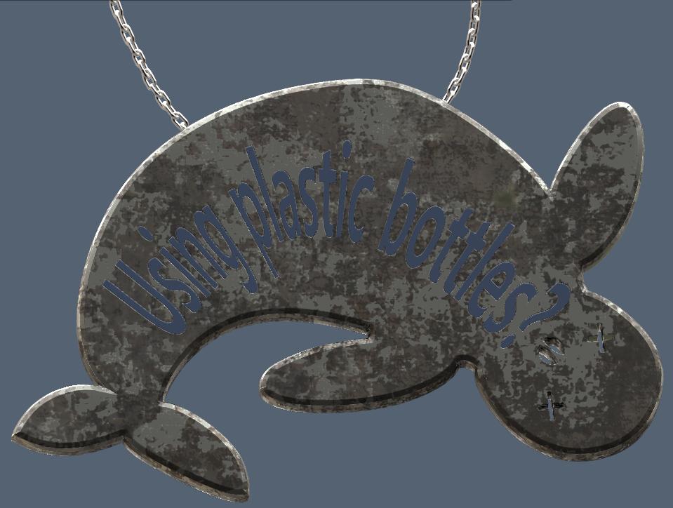 Verso.PNG Télécharger fichier OBJ gratuit plastic pollution impact on animals #XYZCHALLENGE • Design à imprimer en 3D, omni-moulage