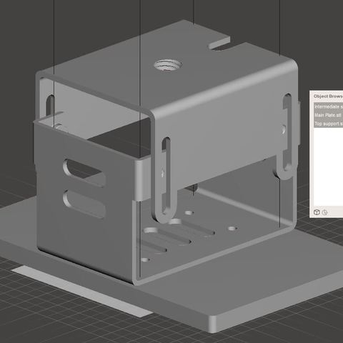 Download free STL file Original Support of the Wanhao Duplicator 7 • 3D print model, omni-moulage