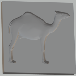 STL file Mould for low relief (Dromedary), omni-moulage