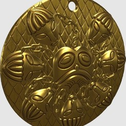 Download free 3D printer designs Ogma Medallion, omni-moulage