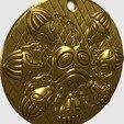 Download free 3D printer designs Ogma Medallion, omni-moulage
