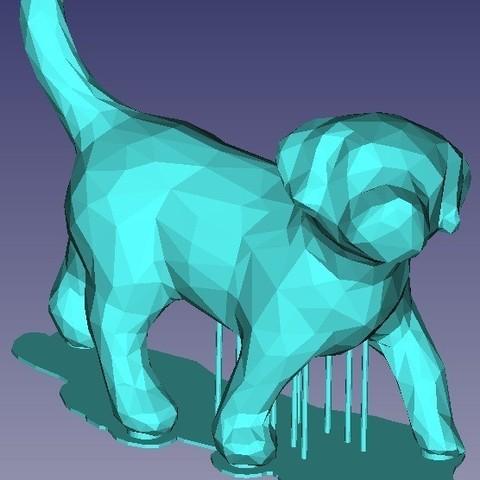 Descargar archivo 3D gratis Pequeño perro, omni-moulage