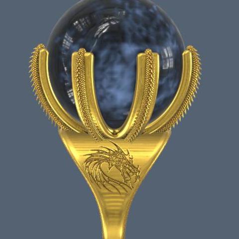 STL file Ball ring holder, omni-moulage